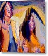 John And Yoko Metal Print