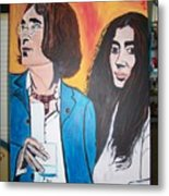 John And Yoko Ono Metal Print