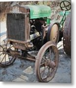 Hap's Ride Metal Print