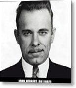 John Dillinger - Bank Robber And Gang Leader Metal Print