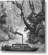 John Fitch Steamboat Metal Print by Granger