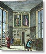 John Flamsteed, C. 1700 Metal Print