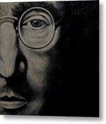John Lennon - Peace Metal Print