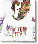 John Lennon 2 Metal Print
