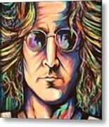 John Lennon Metal Print