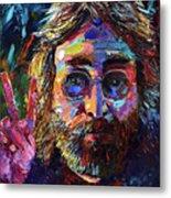 John Lennon Peace Metal Print
