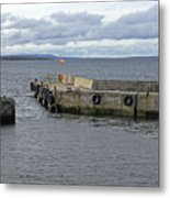 John O'groats Harbour Metal Print