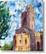 John Piper's Jewel - Sunningwell Church Metal Print