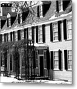 John Quincy Adams House Facade Metal Print