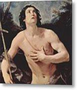 John The Baptist 1640 Metal Print