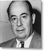 John Von Neumann 1903-1957 Metal Print by Everett