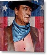 John Wayne Americas Cowboy Metal Print