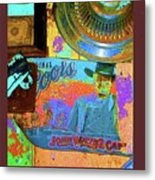 John Wayne Coors Light Commemorative Tinware  Coolidge Arizona 2004-2009 Metal Print