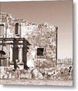 John Wayne's Alamo Mission Metal Print