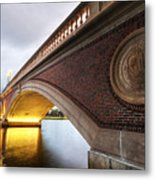 John Weeks Bridge Charles River Harvard Square Cambridge Ma Metal Print