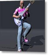 Johnny Guitar 2 Metal Print