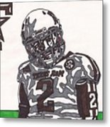 Johnny Manziel 11  Metal Print by Jeremiah Colley