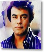Johnny Mathis, Music Legend Metal Print