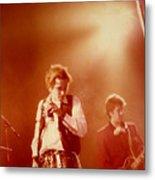 Johnny Rotten and Steve Jones Metal Print