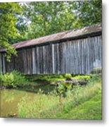 Johnson's Mill/salt Creek Covered Bridge  Metal Print