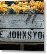 Johnston Fruit Farms Metal Print