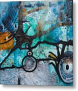 Joining The Dots Metal Print