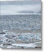 Jokulsarlon, Iceland Metal Print