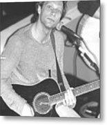 Jon Bon Jovi Acoustic Metal Print