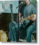 Jon Short-have Blues Will Travel Metal Print