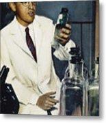 Jonas Salk (1914-1995) Metal Print