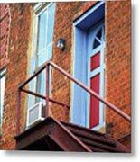 Jonesborough Tenessee - Upstairs Neighbors Metal Print