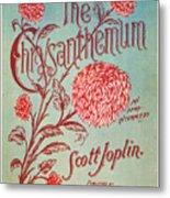 Joplin: Chrysanthemum Metal Print