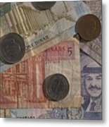 Jordan Currency Metal Print