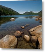 Jordon Pond Metal Print