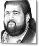 Jorge Garcia Metal Print
