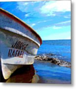 Jorge Rafael By Michael Fitzpatrick Metal Print by Mexicolors Art Photography