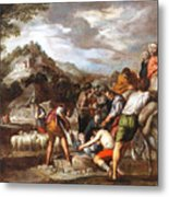 Joseph Sold By His Brothers Metal Print