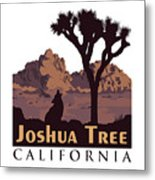 Joshua Tree. Metal Print