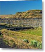 Joso High Bridge Over The Snake River Wa 1x2 Ratio Dsc043632415 Metal Print