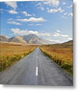 Journey Ahead Ireland Metal Print