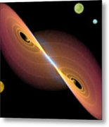Journey Into Space Metal Print