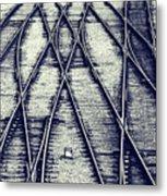 Journey Marks Metal Print