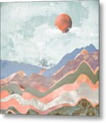Journey To The Clouds Metal Print