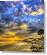 Journey To The Sunset Metal Print