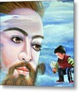 Journey With Jesus Metal Print