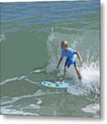 Joy Of Surfing - Four Metal Print