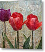 Joy Withtulips Metal Print