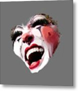 Joyful Klown Metal Print