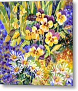 Joyful Noise Metal Print by Ann  Nicholson