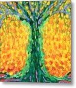 Joyful Tree Metal Print